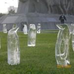 Esculturas em Gelo para Aquecimento Global