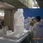 Escultura em Gelo SESC