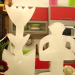 Escultura em Gelo no Programa Mirian Sobral