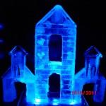Escultura em Gelo com Tema Natal