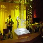 Escultura em Gelo de Instrumentos Musicais