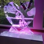 Escultura de Coqueteleira em Gelo Personalizada