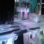 Escultura em Gelo para Festa Debutante do Terror