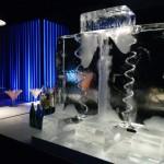 Escultura em Gelo Coqueteleira Serpentinada
