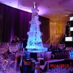 Coqueteleira da Torre Eiffel em Gelo