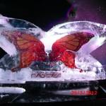 Escultura em Gelo Coqueteleira para Casamento