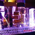 Escultura em Gelo Coqueteleira para Aniversário