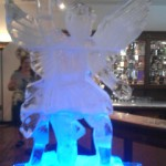 Escultura em Gelo de Anjo