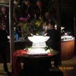 Escultura de Gelo para Aniversário da Ana Gontijo