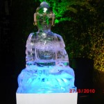 Escultura em Gelo de Budá para Casamento
