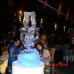 Escultura em Gelo para Casamento em Jundiaí