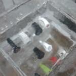 Escultura em Gelo para os Relógios da Cásio