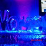 Escultura em Gelo de Logo Empresarial