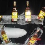 Escultura em Gelo para o José Cuervo