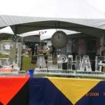 Escultura em Gelo para 89FM e Alpha FM