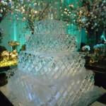 Escultura em Gelo para Festa de 15 Anos Giovanna