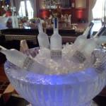 Escultura em Gelo de Champanheira
