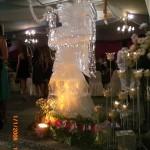 Escultura em Gelo de Anjo para Festa de Debutante