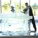 Esculturas em Gelo no SPTV