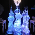 Escultura em Gelo no Tema Harry Potter