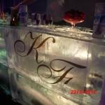 Escultura em Gelo de Ice Bar para Casamento