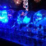 Escultura em Gelo de Dragão para Festa Debutante