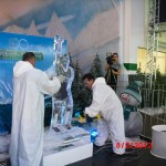 Escultura em Gelo na Homenagem a Sócrates
