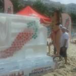 Escultura de Gelo para Promoção Chilli Beans