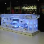Escultura em Gelo de Ice Bar Feira do Automóvel 2012