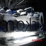 Escultura de Gelo para Festival de Inverno Mokai