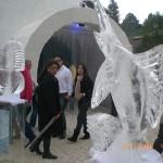 Escultura da Casa de Gelo Naldecon