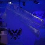 Esculturas em Gelo Lançamento da Orloff Gás