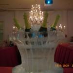 Escultura em Gelo de Champanheira para Festas