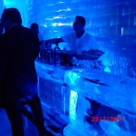 Escultura em Gelo de um Ice Bar