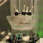 Escultura em Gelo tema Frozen para Aniversário