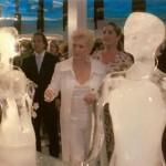 Celebridades e Esculturas em Gelo