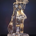 Escultura de Estátuas em Gelo para Eventos