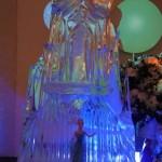 Escultura em Gelo do Frozen para Aniversário