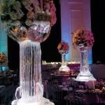 Escultura em Gelo de Nome para Festa de Debutante