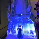 Escultura em Gelo para Aniversário Frozen