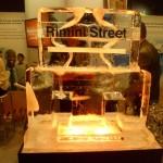 Escultura de Coqueteleira de Gelo para Eventos