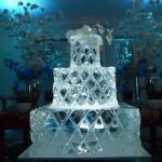 Escultura de Bolo de Gelo para Aniversário